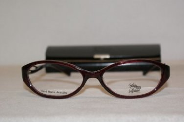 New Saks Fifth Avenue 241 Burgundy (JNS) Eyeglasses: Mod. 241 53-16 & Case