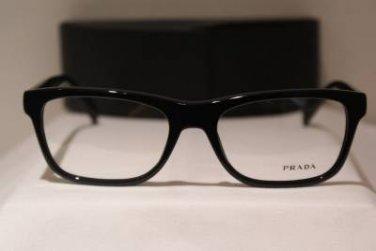 Brand New PRADA Eyeglass Mod. VPR 19P Col. 1AB-1O1 55-18-140 & Case