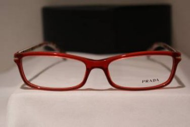 Brand New PRADA Eyeglass Mod. VPR 14N Col. AB9-1O1 54-16-135 & Case