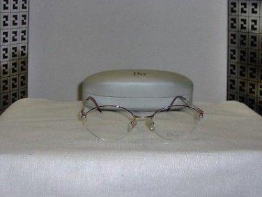 New Christian Dior 3568 Rose 52-20 Eyeglasses: Mod. 3568 & Case