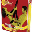 Pleasure Swing Cheetah strap on bondage toy