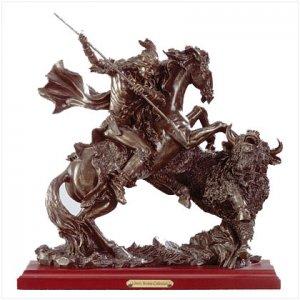 Liberty Bronze-Buffalo Hunting