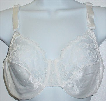 36D ~ Mothercare White Prenatal Maternity Support Soft Cup Bra #4291 36 D