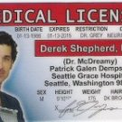 DR. McDREAMY LICENSE