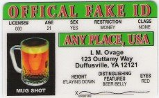 OFFICAL FAKE I.D.