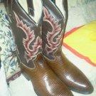 ***NEW MEXICAN Mens Lizard Print Cowboy Boots***LQQK