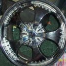 "***BIGG 17"" 4 LUG UNIVERSAL CHROME WHEEL***LQQK"