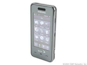 Samsung Instinct M800 - Black (Sprint) Cellular Phone