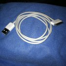 **1 Apple Oem Original Usb Cable Charger Iphone 4 Iphone 3 Ipod Touch 1 2 3 4**