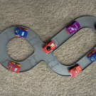 KOOL WHEELS Racetrack + 2 Soft Cars Playset (compatible w/Playskool Wheel Pals+Fisher Price Wheelies