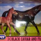 Breyer Classics #1740 Black Caviar and Foal ‑New‑ Factory Sealed