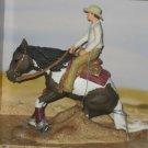 Schleich Gift Set #42036 Reining Horse & Rider - Western Paint NRHA NEW in Box Set