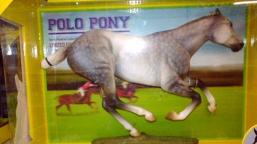 Breyer Traditional Horses #1744 Santiago - Polo Pony Retired 3000pc Limited Edition