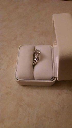 3/8 Ctw Diamond Wedding Set with 1/3 Ctw Round Diamond Center Stone