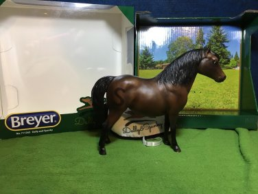 Breyer Breyerfest 2017 Miniature Horse Spanky Dark Bay Shetland Pony ~750 made!