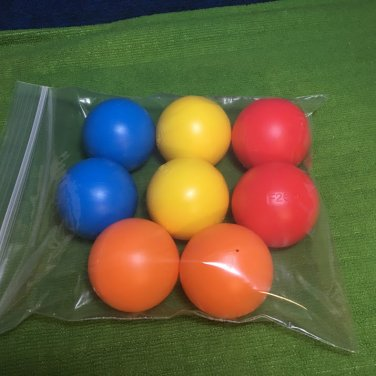 8pc Replacement Balls FITS Fisher Price Cruise Crawl Musical Jungle OR Ballapalooza