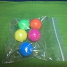 5pc Plastic Toy Balls use with Playskool Elefun Busy Ball Popper Poppin Park Stack N Drop ++