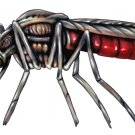 "6"" printed airbrushed design Mosquito vinyl decal sticker for any smooth surface."