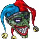 "6"" printed airbrushed design joker vinyl decal sticker for any smooth surface."