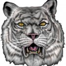 "6"" printed airbrushed  design tiger vinyl decal sticker for any smooth surface."