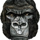 "6"" printed airbrushed  design gorilla vinyl decal sticker for any smooth surface."