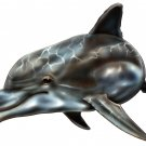 "6"" printed airbrushed  design dolphin vinyl decal sticker for any smooth surface."
