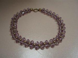 Swarovski lilac crystal