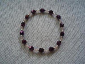 Czech glass bracelet