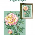 Fragrant Rose Cross Stitch Chart PDF file by email