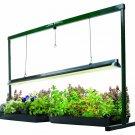 Hydrofarm 4 Foot Jump Start Grow Light Lamp System Plant Food Farm Flowers Seed