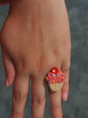 Custom Cupcake Ring, Made to Order.