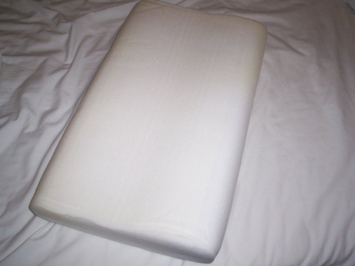 MEMORY PERFECT MEMORY FOAM CONTOUR PILLOW 20 X 12 X 4
