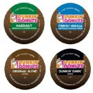 Dunkin Donuts or WaWa Brand K-Cup Custom Sample 4 Pack - Mix & Match Flavors