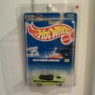 Hot AWheels green Cuda Error Car No floor Board