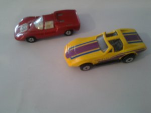 Match box Chevy Corvete & 1970 Lesney Porchs #68 mint