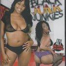 Black Junk Junkies (DVD) Black Fever Films JORDAN RAIN LUSCIOUS KISSES NAZAR NEW
