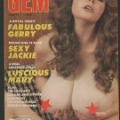 Gem October 1990 Oct '90 10/90 BIG NATURAL BREASTS BOOBS TITS GERRY JACKIE MARY
