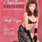Deep Throat Fantasies (DVD) Caballero Classics MISTY REGAN PETER NORTH DELIA NEW