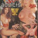 SENIOR SEX ADDICTS {Adult VHS} PLATINUM NINA HARTLEY ZINA DEAN PATTY JUST & MORE
