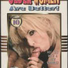 OLDER WOMEN ARE BETTER VOLUME 10 {Adult VHS} SUNSHINE MATURE FLOOZIES HOT SEX