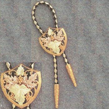 Black Hills Gold Fancy Dress Bolo Tie ~Sharp~