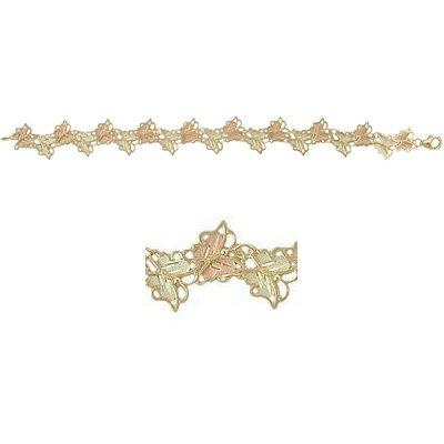 Black Hills Gold Bracelet Butterflies
