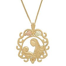Black Hills Gold Mother's Love Necklace