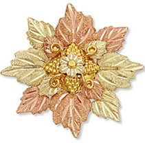 Black Hills Gold Daisy Fancy Brooch