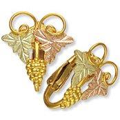 Black Hills Gold Clip On Earrings