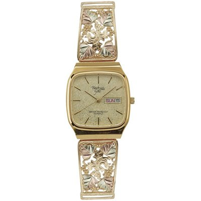 Black Hills Gold Watch Mens Date Water Resistant