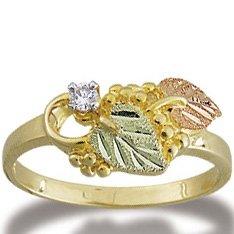 Black Hills Gold Diamond .05 Ladies Ring