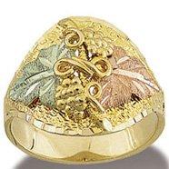Black Hills Gold Fantastic Men's Ring