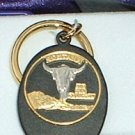 Black Hills Gold Montana State Quarter Key Ring
