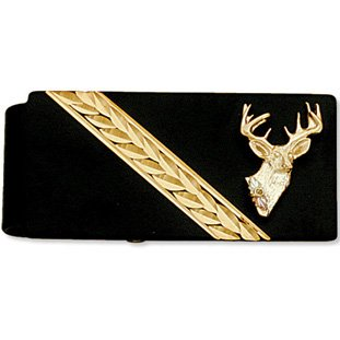 Black Hills Gold Deer 10 Point Buck Money Clip
